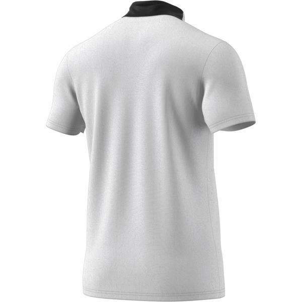 adidas Condivo 18 White/Black Cotton Polo