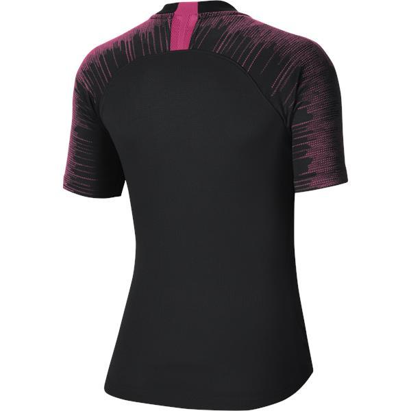 Nike Womens Strike Football Shirt Black/Vivid Pink