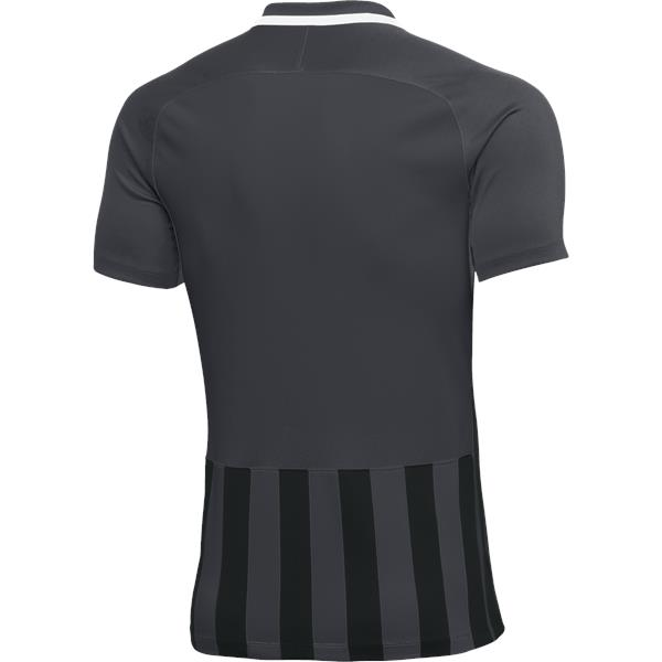 Nike Womens Striped Division III Football Shirt Anthracite/Black