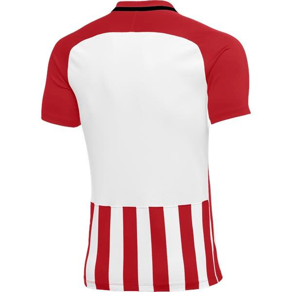 Nike Womens Striped Division III Football Shirt Uni Red/White