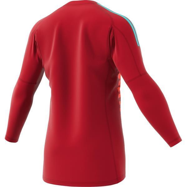 adidas ADIPRO 18 Power Red/Semi-Solar Red Goalkeeper Shirt