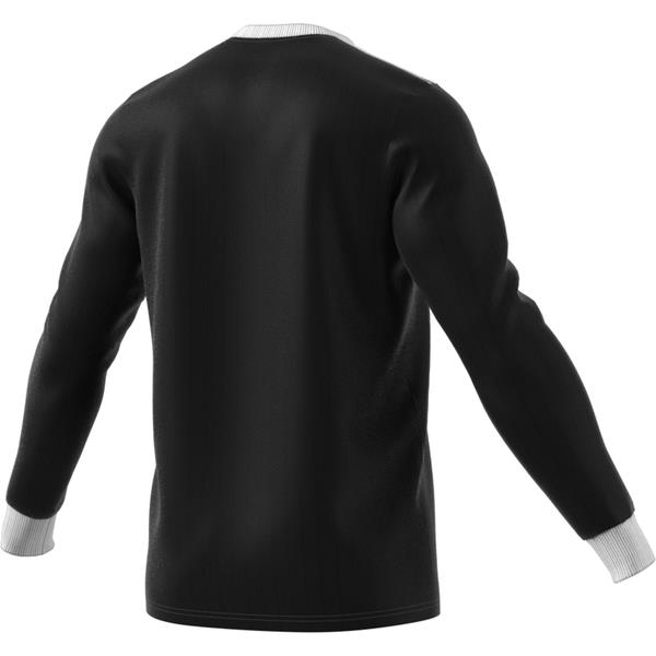 adidas Tabela 18 LS Black/White Football Shirt