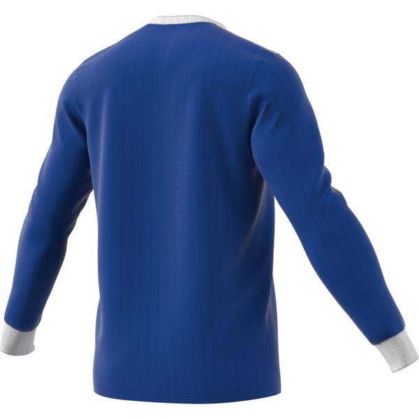 adidas Tabela 18 LS Bold Blue/White Football Shirt