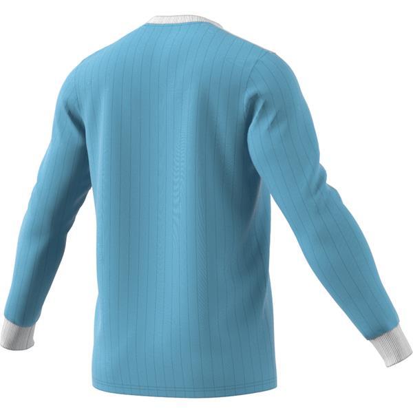 adidas Tabela 18 LS Clear Blue/White Football Shirt