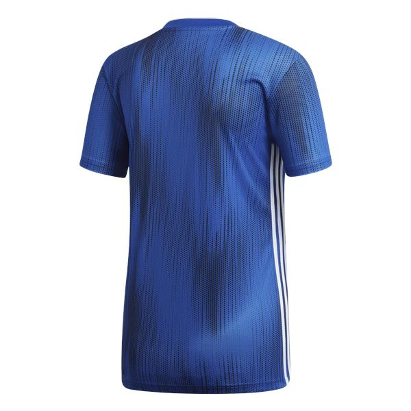 adidas Tiro 19 Womens Bold Blue/White Football Shirt