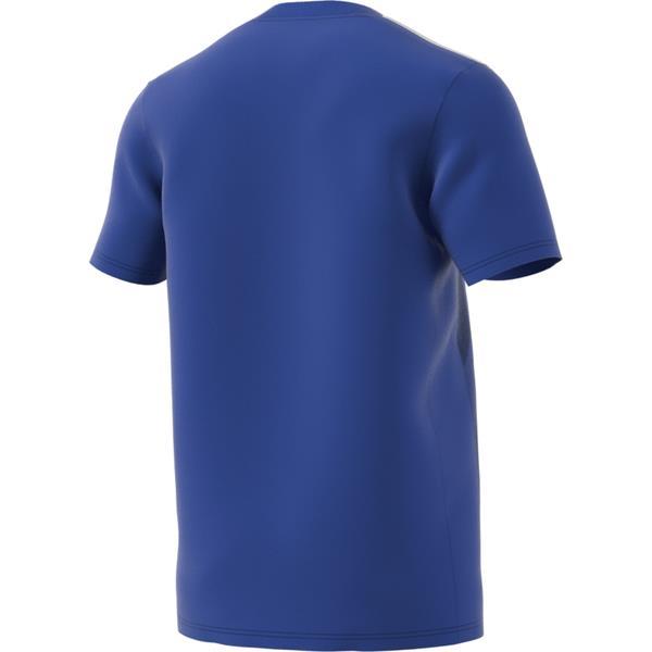 adidas Striped 19 Bold Blue/White SS Football Shirt