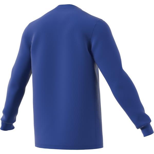 adidas Striped 19 Bold Blue/White LS Football Shirt