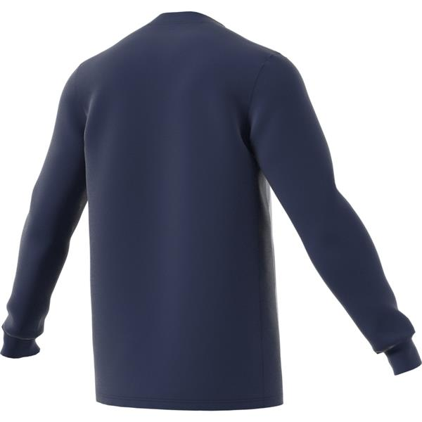 adidas Striped 19 Dark Blue/White LS Football Shirt