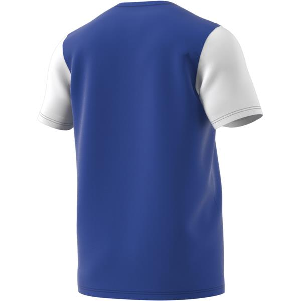 adidas Estro 19 Bold Blue/White Football Shirt