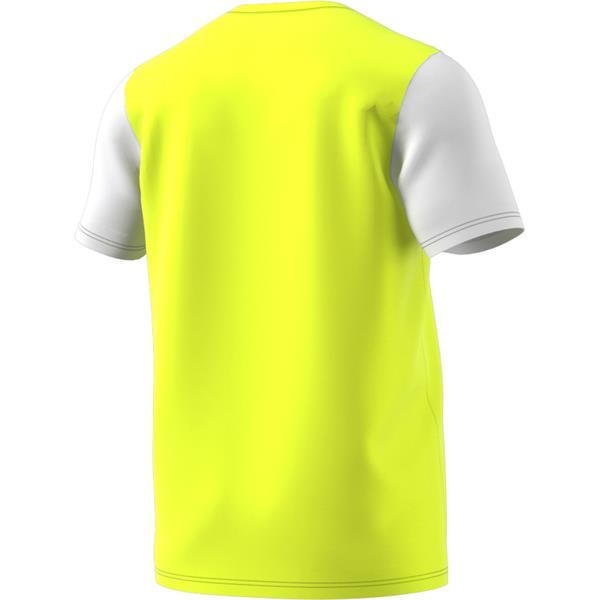 adidas Estro 19 Solar Yellow/White Football Shirt