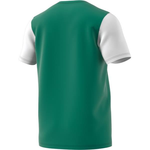 adidas Estro 19 Bold Green/White Football Shirt