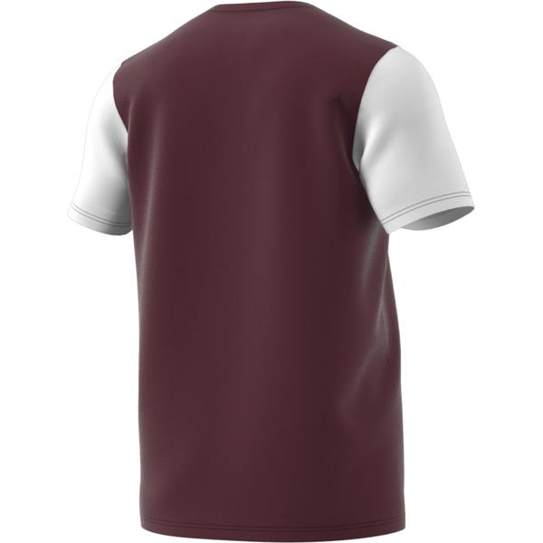 adidas Estro 19 Maroon/White Football Shirt