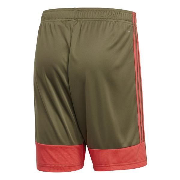 adidas Tastigo 19 Raw Khaki/Shock Red Football Short