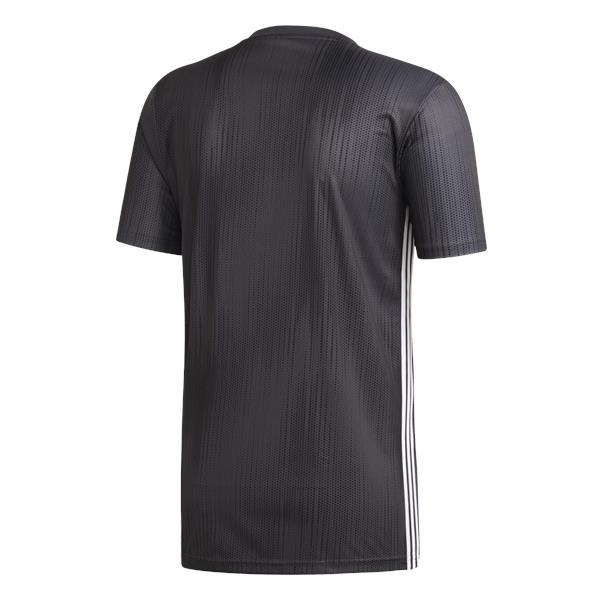 adidas Tiro 19 Solid Grey/White Football Shirt