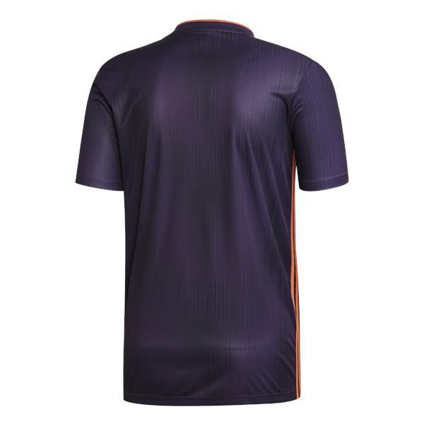 adidas Tiro 19 Legend Purple/True Orange Football Shirt