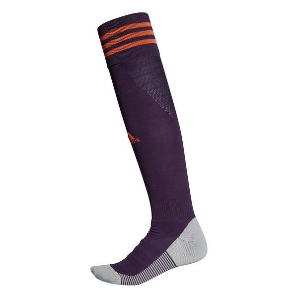 adidas ADI SOCK 18 Legend Purple/True Orange Football Sock