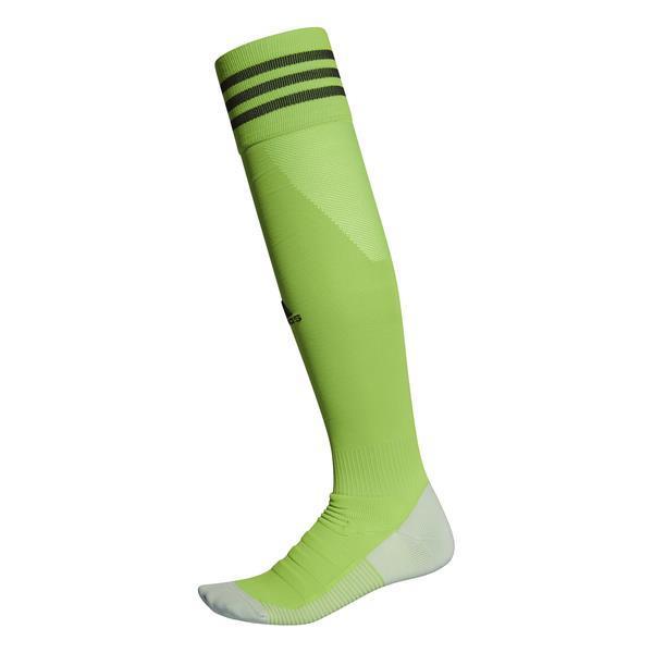 adidas ADI SOCK 18 Semi Solar Green/Black Goalkeeper Sock