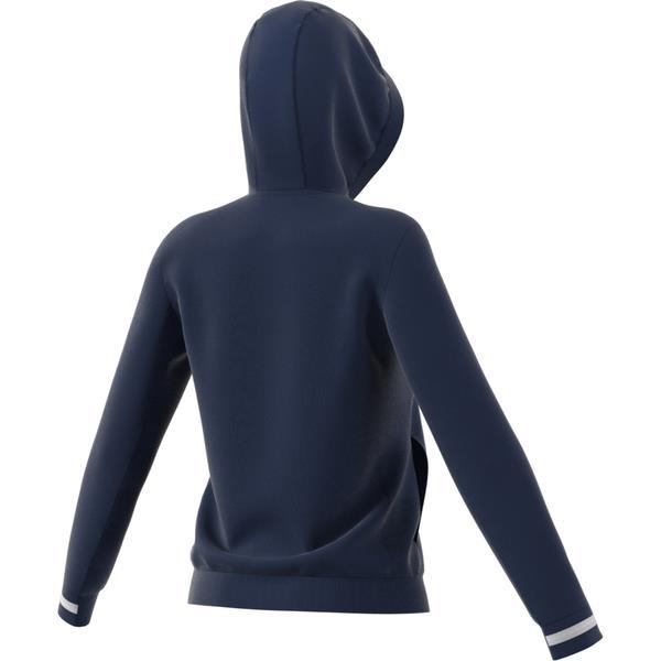 adidas Team 19 Womens Team Navy Blue/White Hoody