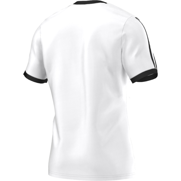 adidas Tabela 14 White/Black SS Football Shirt