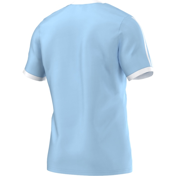 adidas Tabela 14 Clear Blue/White SS Football Shirt Youths