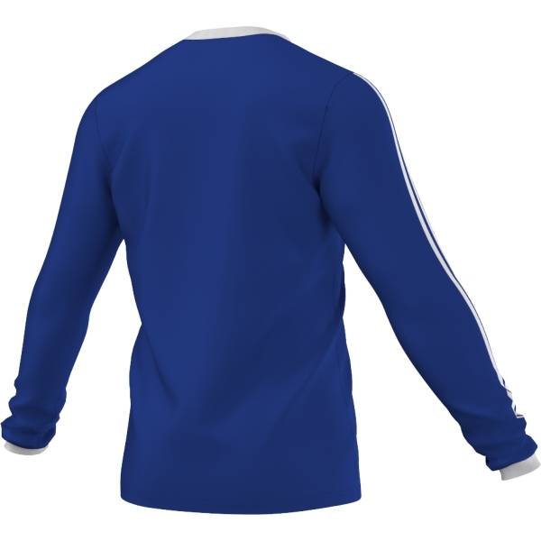 adidas Tabela 14 Bold Blue/White LS Football Shirt