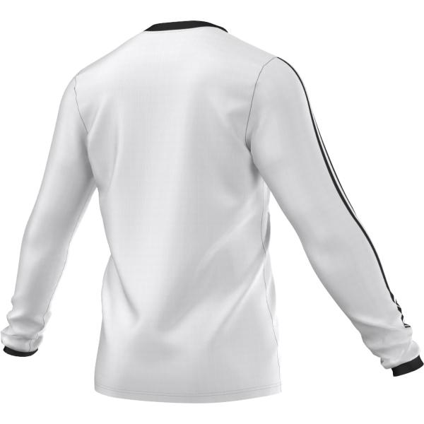 adidas Tabela 14 White/Black LS Football Shirt