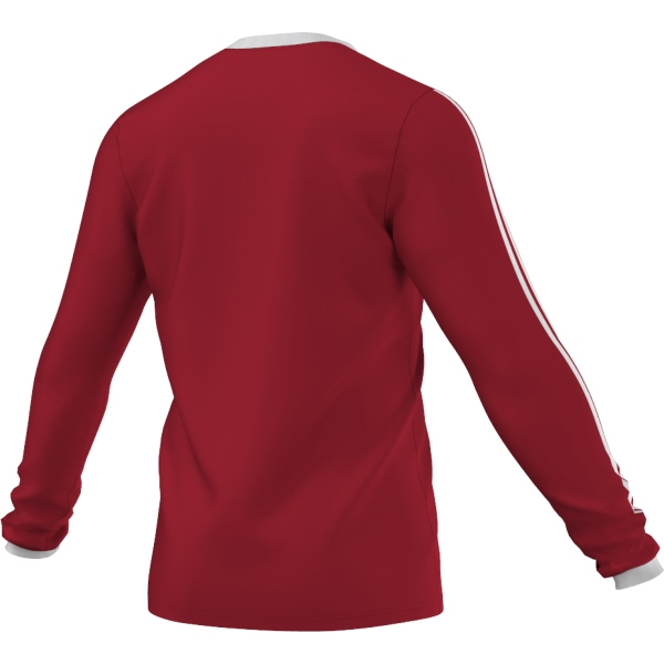 adidas Tabela 14 Power Red/White LS Football Shirt Youths