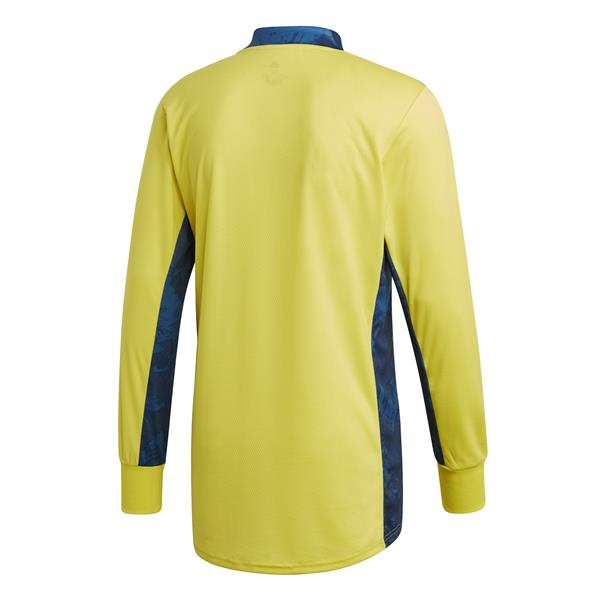adidas ADI Pro 20 Shock Yellow/Team Navy Blue Goalkeeper Shirt