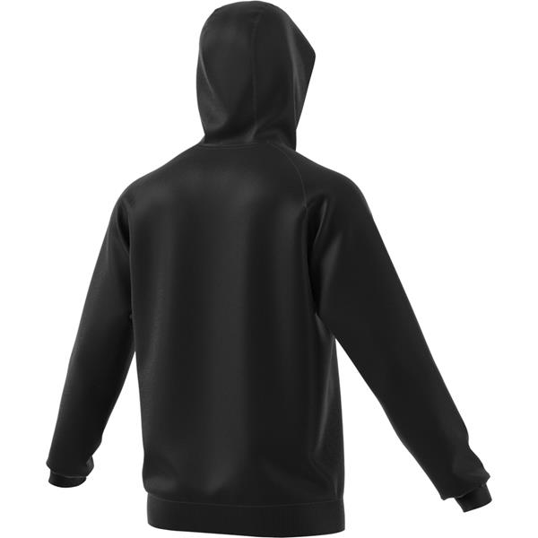 adidas Core 18 Black/White Full Zip Hoody
