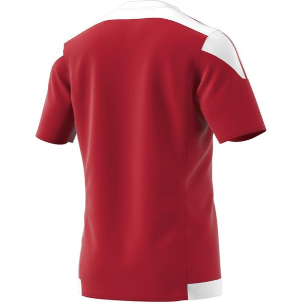 adidas Striped 15 Power Red/White SS Football Shirt