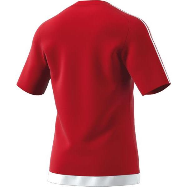 adidas Estro 15 SS Power Red/White Football Shirt Youths