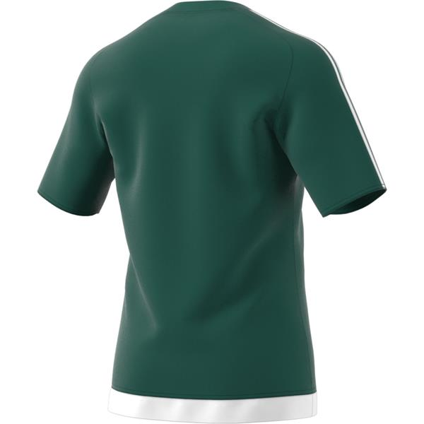 adidas Estro 15 SS Collegiate Green/White Football Shirt