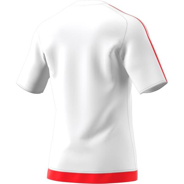 adidas Estro 15 SS White/Red Football Shirt Youths