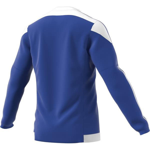 adidas Striped 15 Bold Blue/White LS Football Shirt