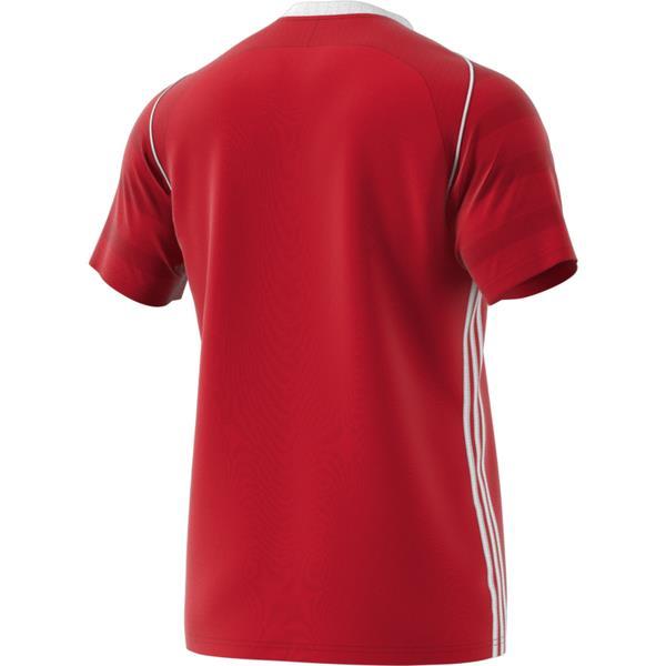adidas Tiro 17 Power Red/White Football Shirt Youths
