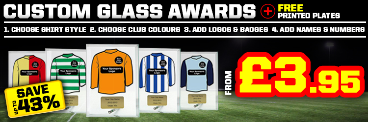 Customised Glass Trophies