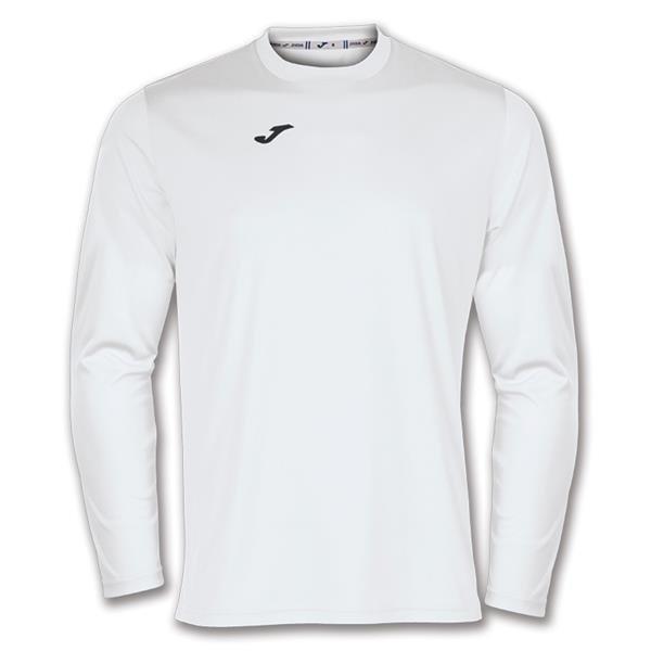 Joma Combi LS Football Shirt Royal/white