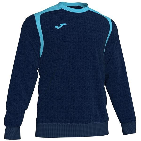 Joma Championship V Dark Navy/Fluo Turquoise Sweatshirt
