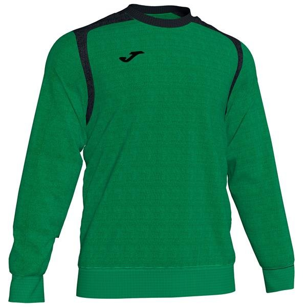Joma Championship V Green/Black Sweatshirt
