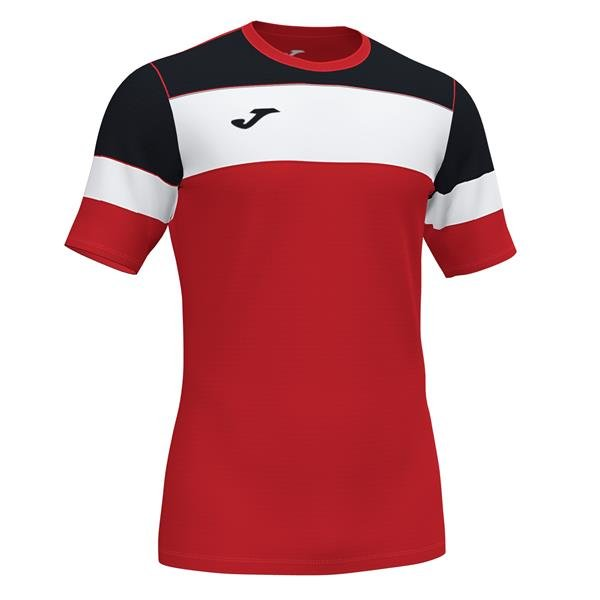Joma Crew IV Red/Black T-Shirt
