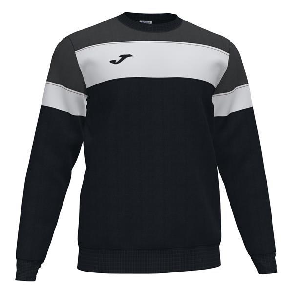 Joma Crew IV Black/Anthracite Sweatshirt