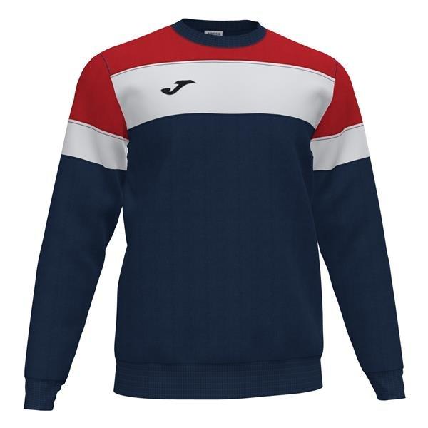 Joma Crew IV Dark Navy/Red Sweatshirt