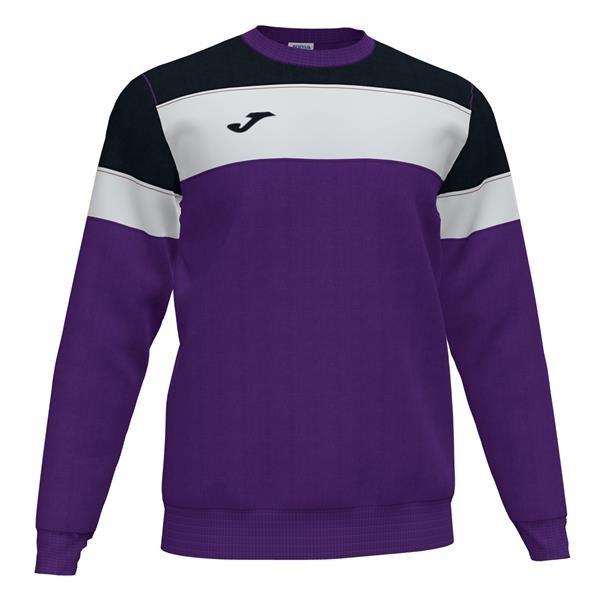 Joma Crew IV Purple/Black Sweatshirt