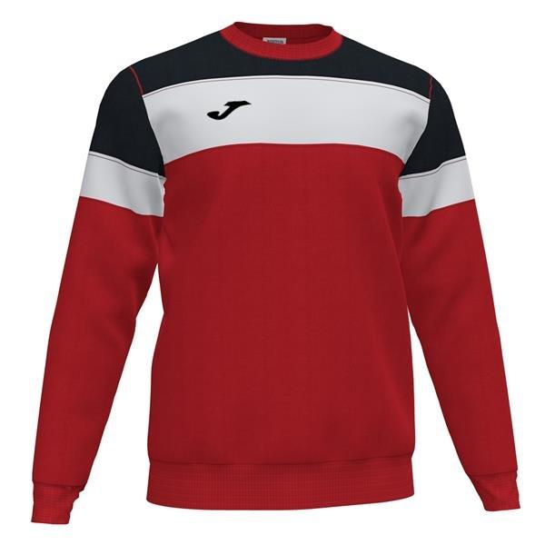 Joma Crew IV Red/Black Sweatshirt