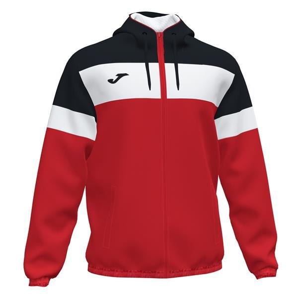 Joma Crew IV Red/Black Rain Jacket