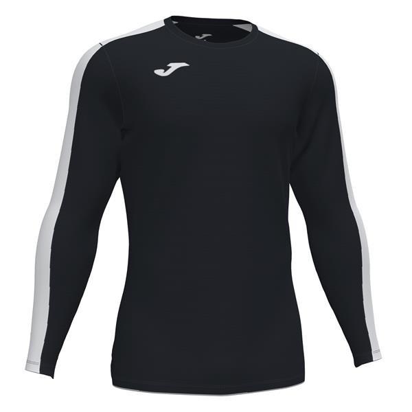 Joma Academy III LS Football Shirt Royal/white