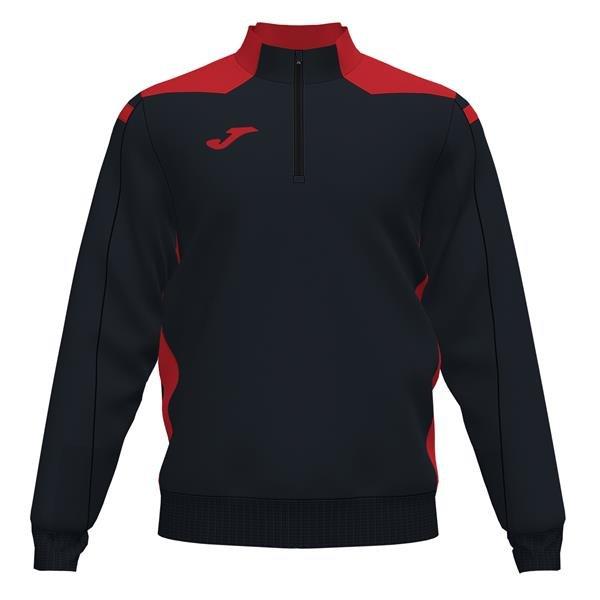 Joma Championship VI Black/Red Sweatshirt