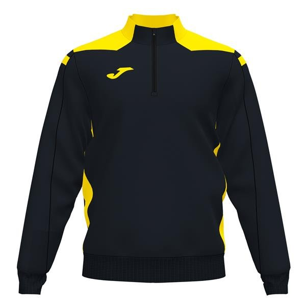 Joma Championship VI Black/Yellow Sweatshirt
