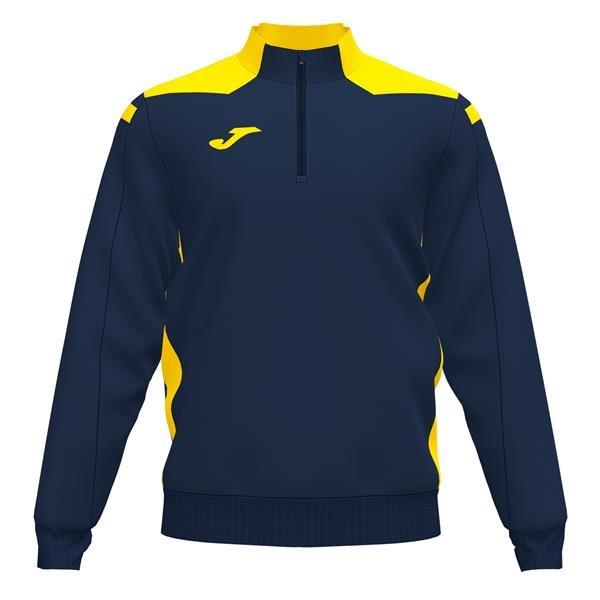 Joma Championship VI Dark Navy/Fluo Yellow Sweatshirt
