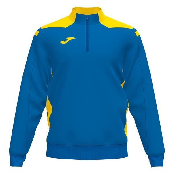 Joma Championship VI Royal/Yellow Sweatshirt